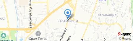 Женис автосервис на карте Алматы