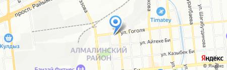 Бахус-Сервис на карте Алматы