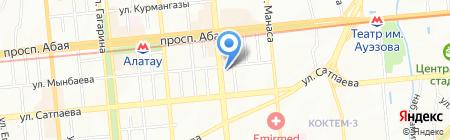 Пинта bar & grill сеть пивных ресторанов на карте Алматы