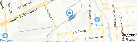 YourHelper на карте Алматы