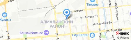 Астана-Стройинвест ТОО на карте Алматы