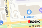 Схема проезда до компании GLORIA JEAN`S COFFEES в Алматы