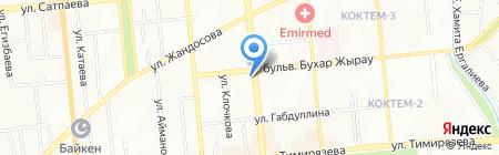 Мир воздушных шаров на карте Алматы