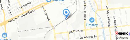 Жолашар-ЖД Сервис на карте Алматы