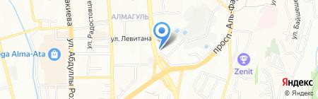 KUDO на карте Алматы