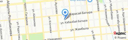 Челси на карте Алматы