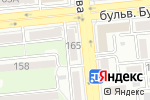 Схема проезда до компании Гела-дент в Алматы