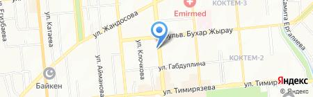 ARGO на карте Алматы