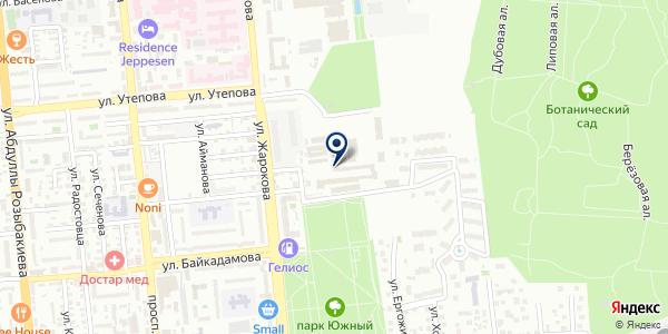 АДЛ на карте Алматы