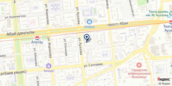 Промтех на карте Алматы