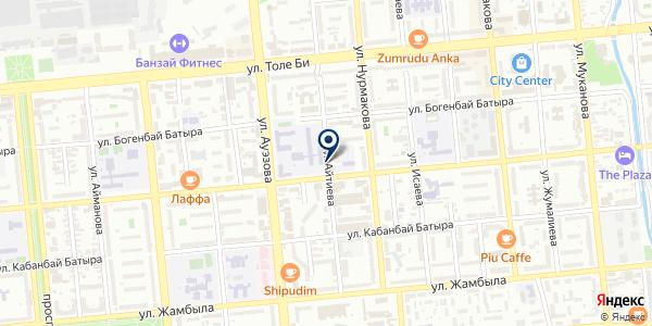 Центр молекулярной медицины, ТОО на карте Алматы