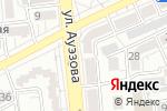 Схема проезда до компании Meleene в Алматы