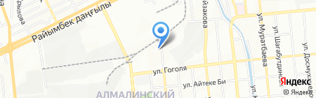 CarTon Trade на карте Алматы