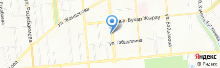 JeansMaster на карте Алматы