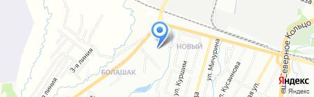 Казтехстрой Лтд ТОО на карте Алматы