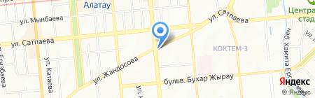 GAZIZA на карте Алматы