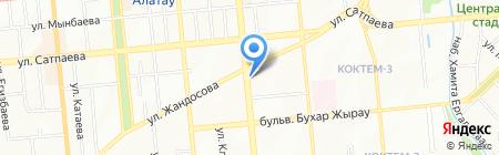 Есфирь салон красоты на карте Алматы