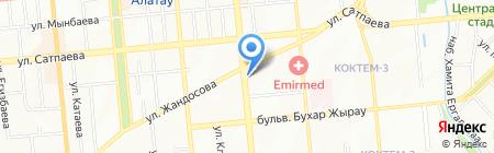 LIMPOPO на карте Алматы