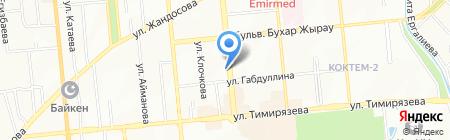 Лягушонок на карте Алматы