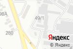 Схема проезда до компании Альта-Профиль KZ в Алматы