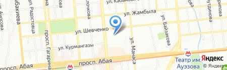 Медиация на карте Алматы