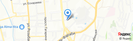 LC Capital на карте Алматы