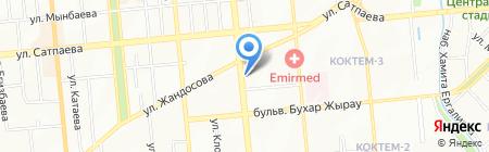 Profi-T на карте Алматы