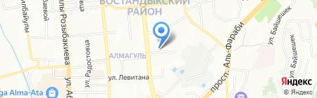 GOOD MEDIA на карте Алматы