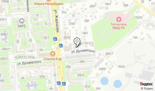 GOOD MEDIA. Схема проезда в Алматы