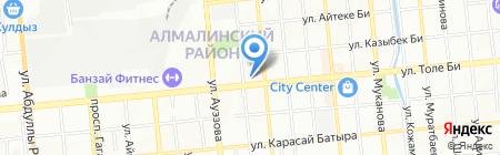 Just Moda на карте Алматы