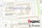 Схема проезда до компании Zhetisu Network Technologies в Алматы