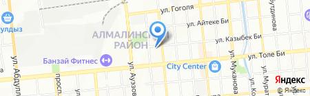 Orange-Apple на карте Алматы