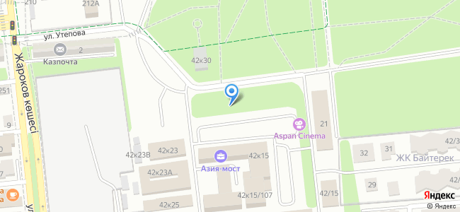 Казахстан, Алматы, офисный городок Атакент-сити