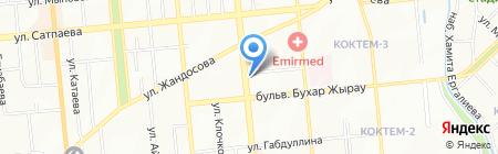 Международный институт аудита и менеджмента на карте Алматы