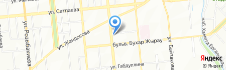 Коллегия аудиторов на карте Алматы