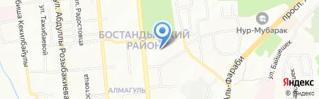 Специальная школа-интернат №2 для детей с нарушением опорно-двигательного аппарата на карте Алматы