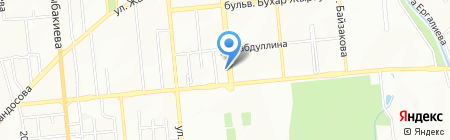 Меруерт на карте Алматы