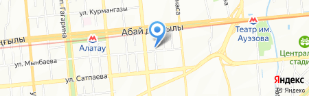 Калуга Дент на карте Алматы