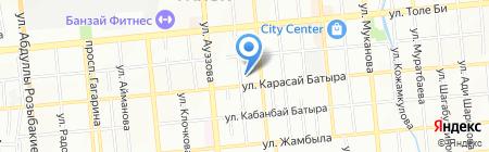 Центр молекулярной медицины на карте Алматы