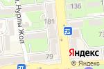 Схема проезда до компании M-Star в Алматы
