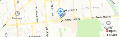 Lady D`S на карте Алматы
