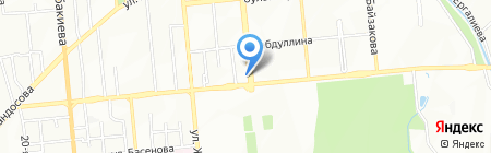 Aviator-ELM на карте Алматы