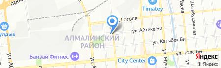 Академия стиля на карте Алматы