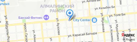 Банкомат ForteBank на карте Алматы