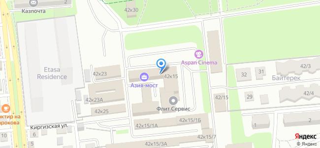 Казахстан, Алматы, улица Тимирязева, 42к15