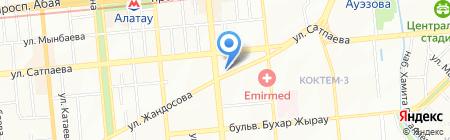 А-Маркет на карте Алматы