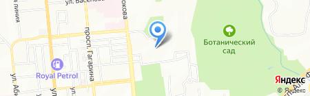 Байкен-U на карте Алматы