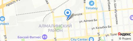 Globex Central Asia на карте Алматы