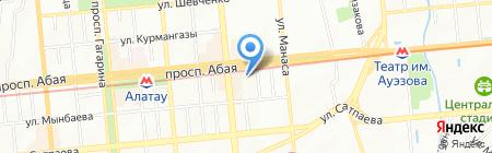 Ambrosia.kz на карте Алматы