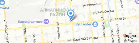Excellent Pizza на карте Алматы